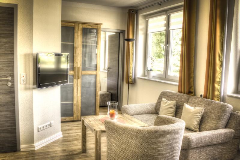 Hotelzimmer Wischhafen