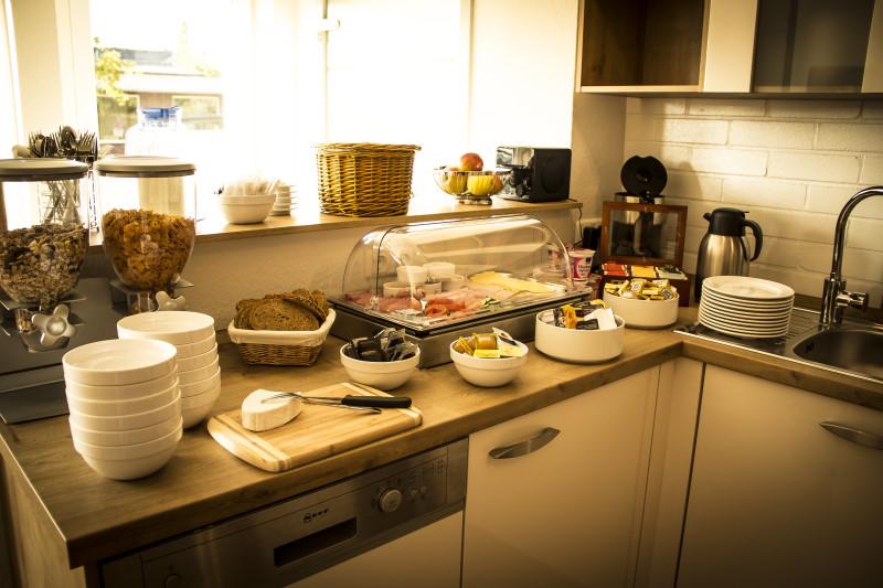 Frühstücksraum Pension Glückstadt