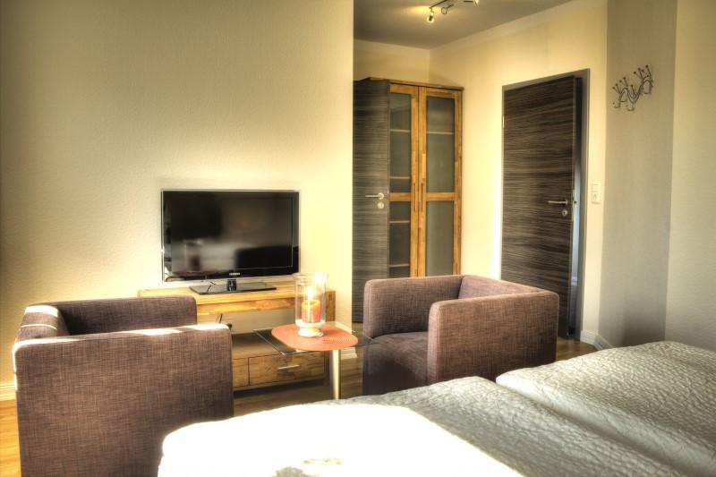 Doppelzimmer Hotel in Glückstadt